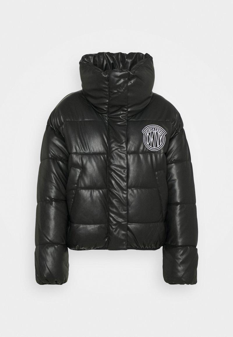DKNY - SHORT PUFFER - Training jacket - black