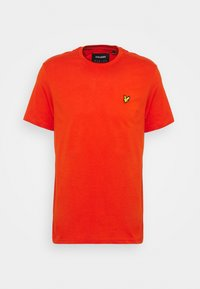 Lyle & Scott - PLAIN - T-shirt - bas - burnt orange - 4