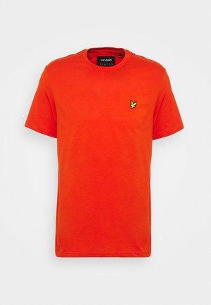 PLAIN - T-shirt - bas - burnt orange