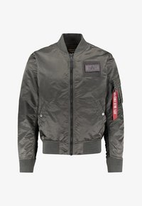 Alpha Industries - BLOUSON CUSTOM - Bomberjacks - anthracite - 0