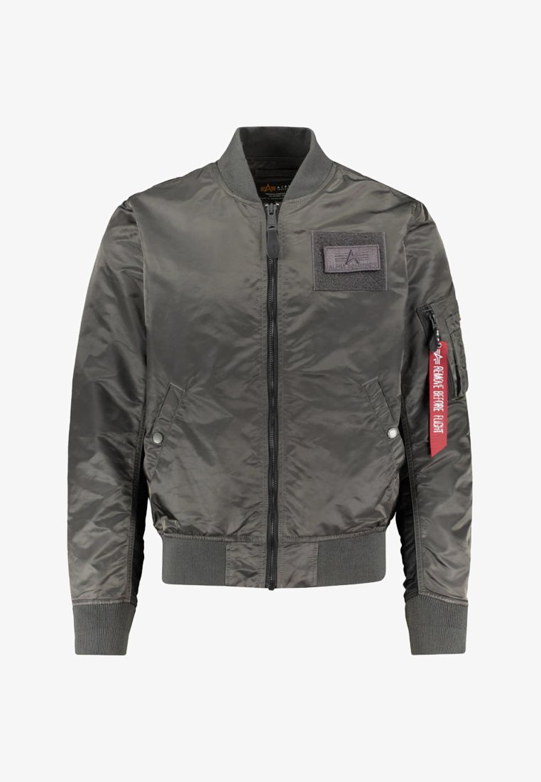 Alpha Industries - CUSTOM - Bomber Jacket - anthracite
