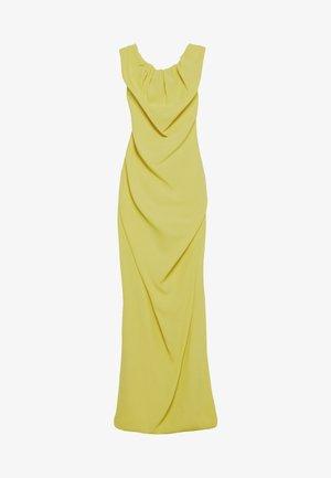 LONG GINNIE DRESS - Společenské šaty - yellow