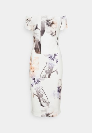 SAIDIE - Shift dress - white