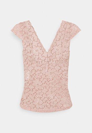 ONLALBA  - Camiseta básica - misty rose