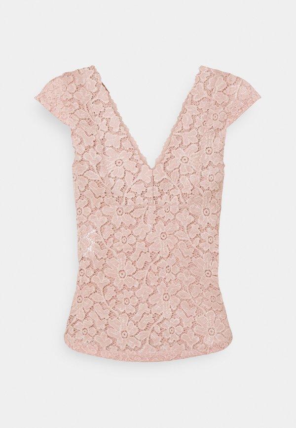 ONLY ONLALBA - T-shirt basic - misty rose/jasnorÓżowy LOPP