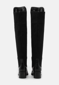 Steve Madden - GRAPHITE - Over-the-knee boots - black paris - 3