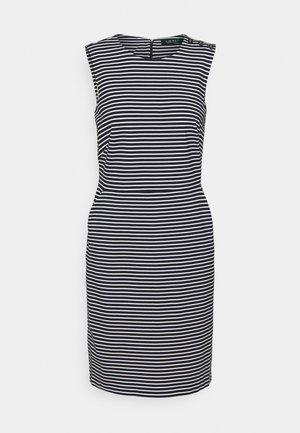 PONTE - Shift dress - lauren navy/pale