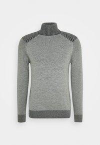 TURTLE NECK JUMPER - Stickad tröja - light grey