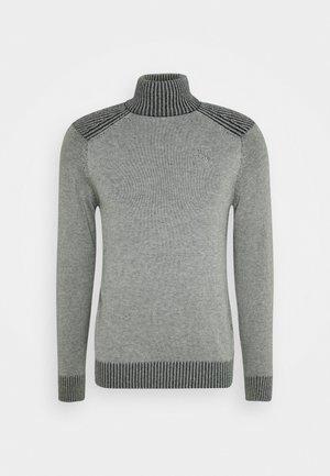 TURTLE NECK JUMPER - Pullover - light grey