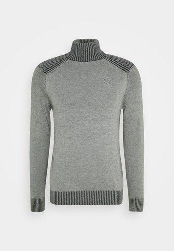 TURTLE NECK JUMPER - Jumper - light grey