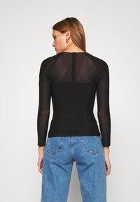 Calvin Klein Jeans - Bluzka z długim rękawem - black - 2