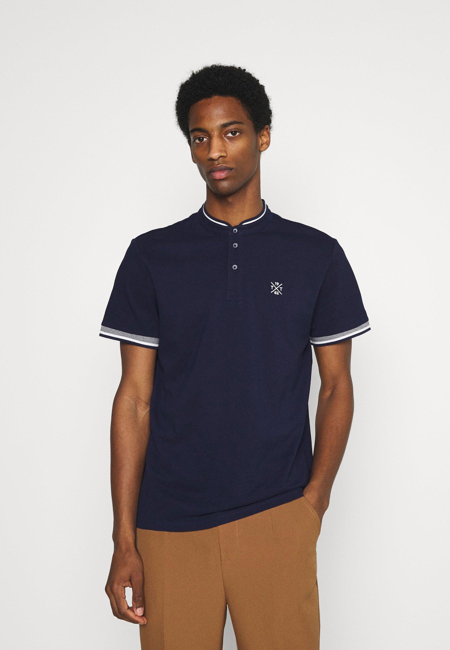 Men COLLAR BAND - Basic T-shirt