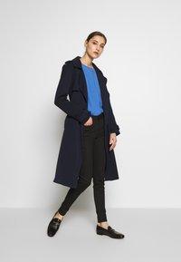 TOM TAILOR DENIM - NELA - Jeans Skinny Fit - black denim - 1