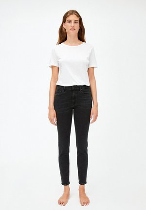 TILLY - Jeans Skinny Fit - washed down black