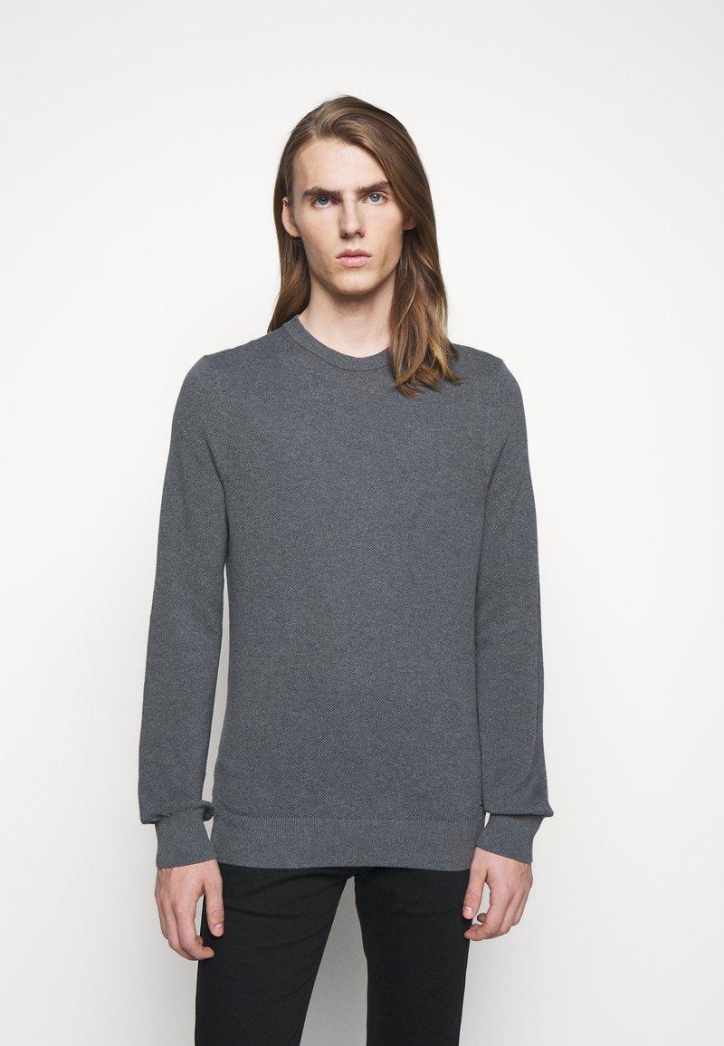HUGO - SAN CLEMENS - Jumper - medium grey
