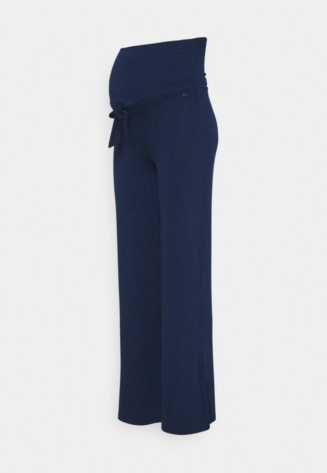 PANTS WIDE - Broek - blue