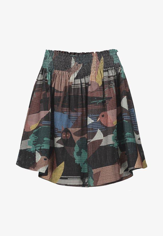 MONY - A-line skirt - dark brown