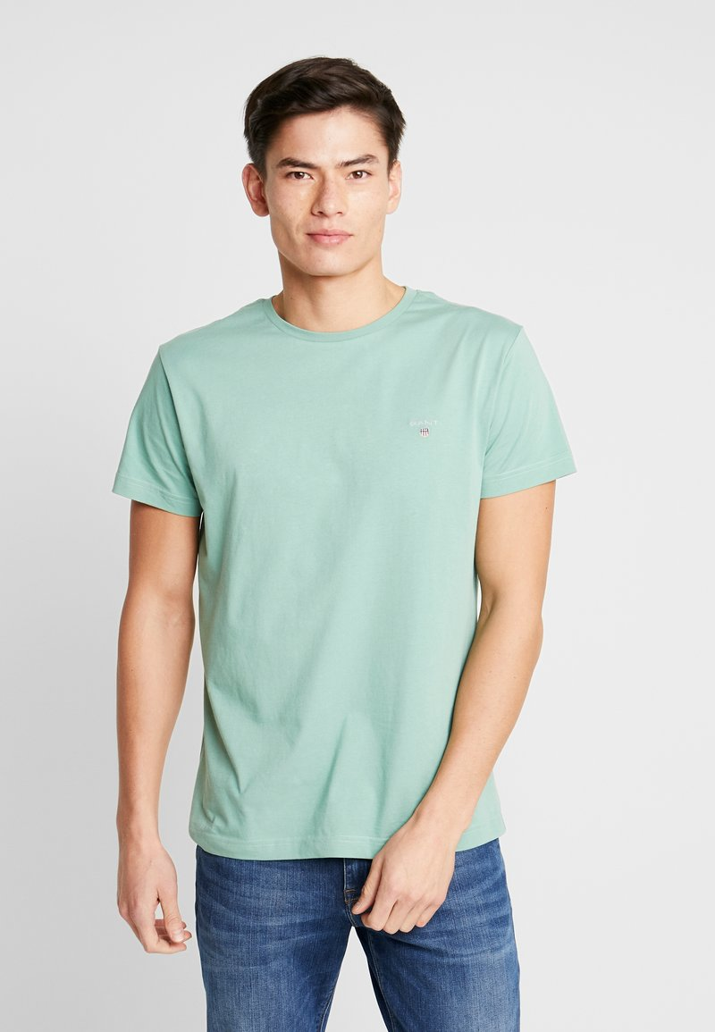 GANT - THE ORIGINAL - T-shirt - bas - field green