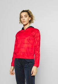 Champion - HOODED FULL ZIP SUIT - Chándal - red - 0