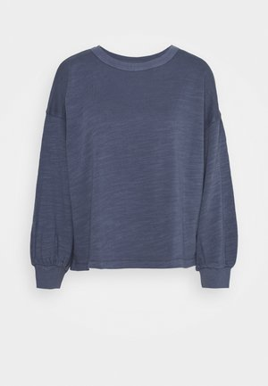 MALIBU TERRY RELAXED PUFF SLEEVE  - Sweater - arctic ocean