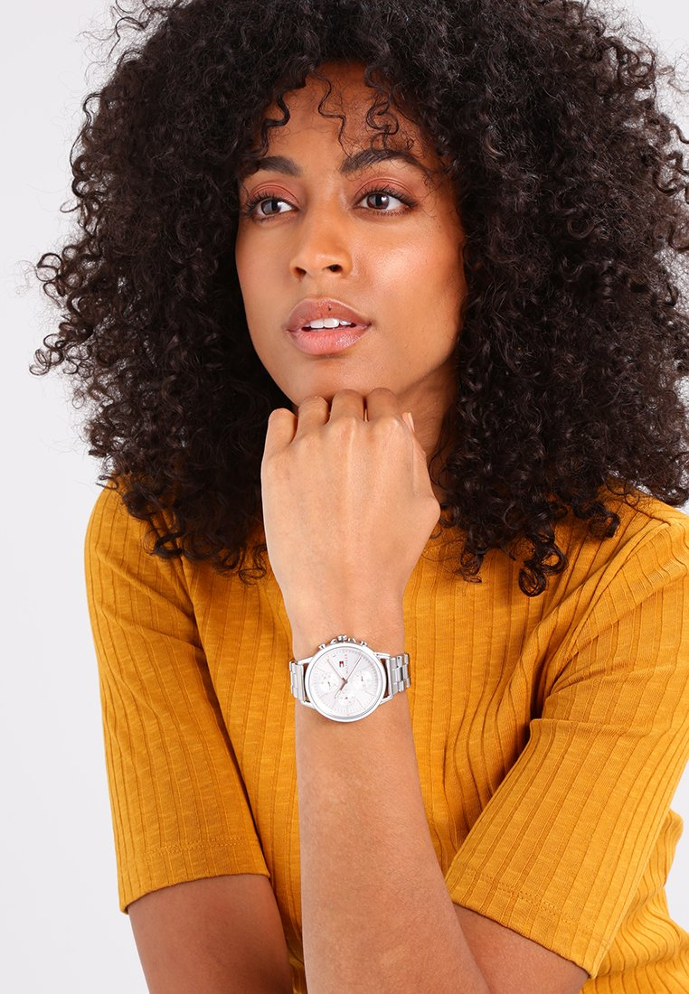 Tommy Hilfiger - Watch - silver-coloured