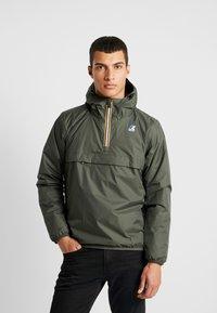 K-Way - LEON PADDED - Light jacket - black torba - 0