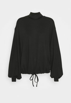 VMMALENA HIGHNECK - Blouse - black