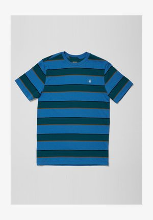 KEATES - Print T-shirt - ballpoint_blue