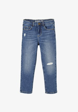 GERADE MÄDCHEN - Relaxed fit jeans - blue stone