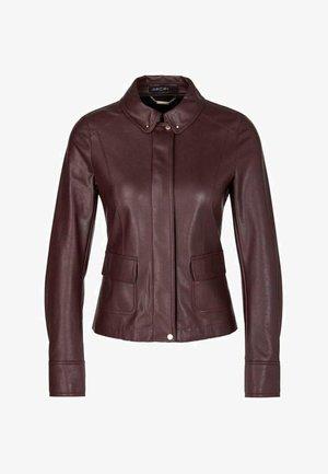 Light jacket - aubergine