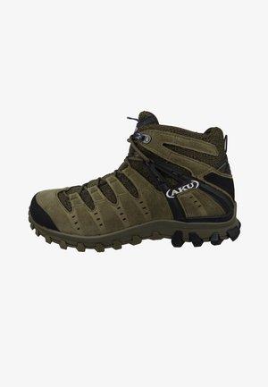 Hiking shoes - camo green black