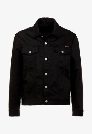 JERRY - Denim jacket - dry black