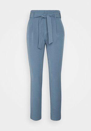 ONLELLY LIFE BELT PANT - Trousers - blue mirage