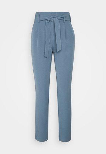 ONLELLY LIFE BELT PANT - Trousers - blue mirage
