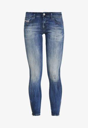SLANDY LOW ZIP - Jeans Skinny Fit - indigo