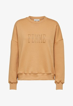 SELECTED FEMME SWEATSHIRT BEDRUCKTES - Sweatshirt - doe