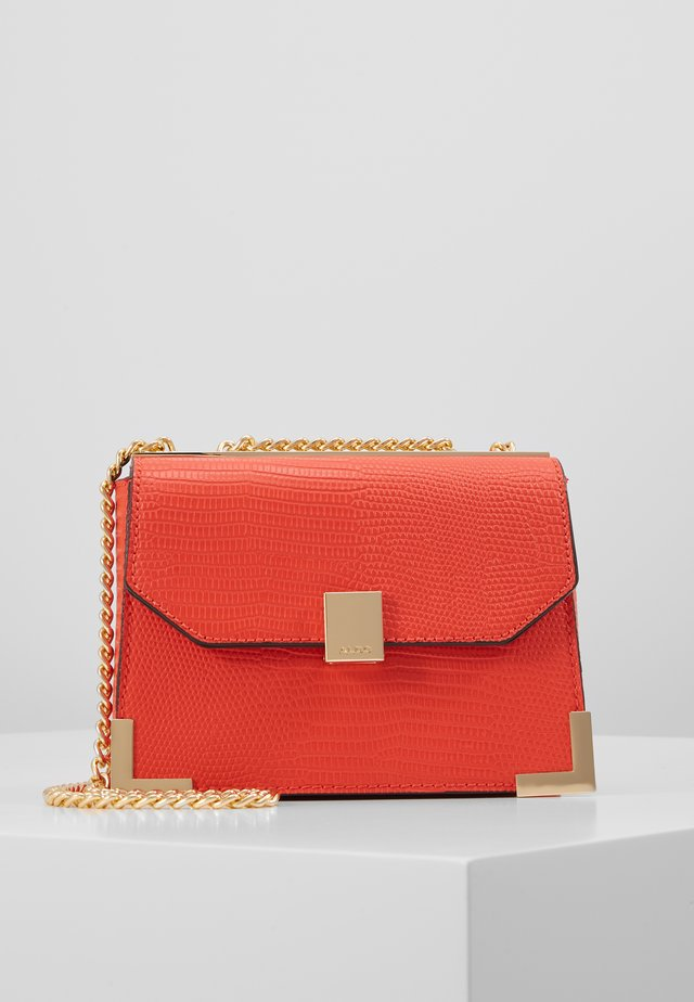 JUBERRA - Handbag - medium orange