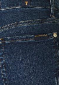 7 for all mankind - SKINNY CROP - Jeans Skinny Fit - dark blue - 3