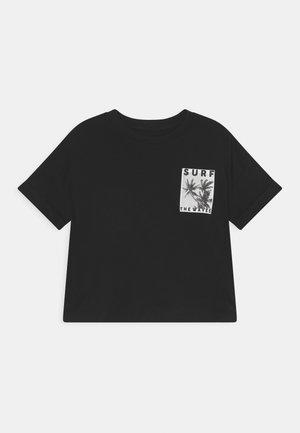 GRAPHIC TEE - Print T-shirt - black