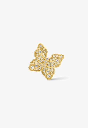 Single earring - The Butterfly - Earrings - gold