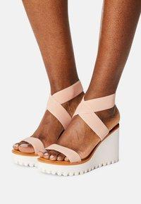 Madden Girl - CARLOTTE - Platform sandals - blush - 0