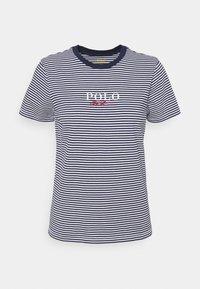 Polo Ralph Lauren - Print T-shirt - cruise navy/white - 4