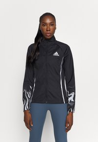 adidas Performance - GLAM ON - Løbejakker - black - 0