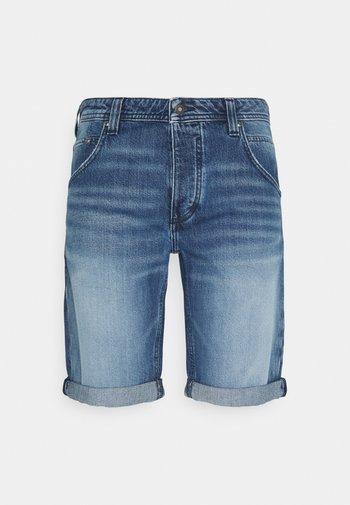MICHIGAN  - Denim shorts - denim blue
