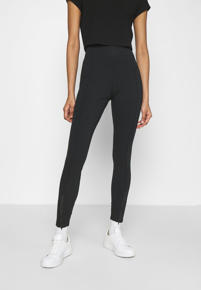 LEGASEE  - Leggings - Trousers - black