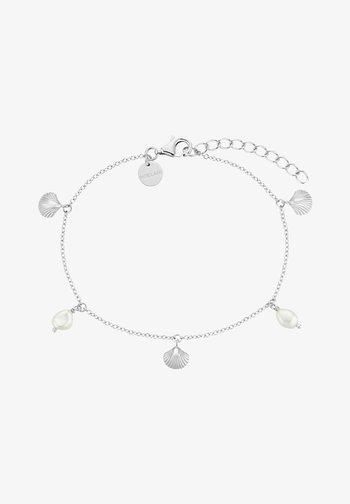 SHELL - Armband - silber