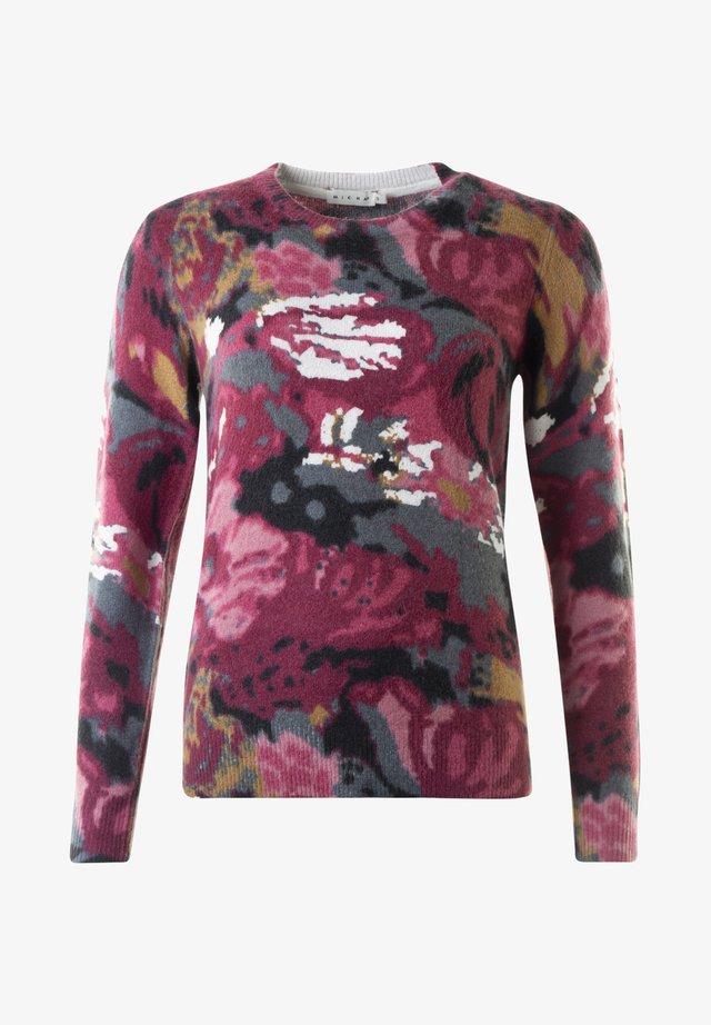 LYDIA - Stickad tröja - fancy print
