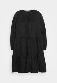 Glamorous Curve - Denní šaty - black cotton - 3