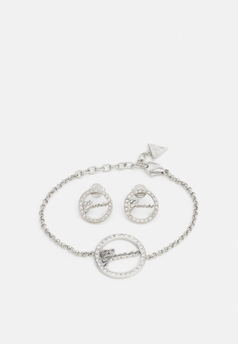 Guess - ALL AROUND YOU SET - Earrings - silver-coloured