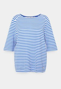 MY TRUE ME TOM TAILOR - OTTOMAN STRIPED - Long sleeved top - marina/white - 0